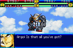 Super Robot Taisen J (english translation) - Battle  - TANKED! - User Screenshot