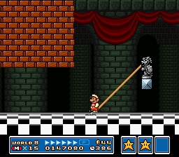 Super Mario All-Stars - Level  - Ahh.... what a nice butt warmer.. - User Screenshot