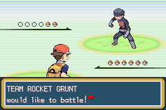 Pokemon Fire Red - Battle  -  - User Screenshot