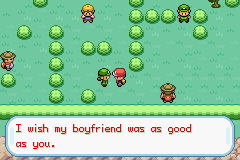 Pokemon Fire Red - Cut-Scene  -  - User Screenshot