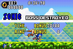 Sonic Advance 2 - Level  - I DONT LIKE YOU CREAM!!!! - User Screenshot