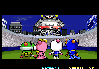 Neo Bomberman - Cut-Scene  - CutScene in 1-Player - User Screenshot