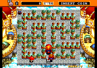 Neo Bomberman - Level Level 1 - The First Level - User Screenshot