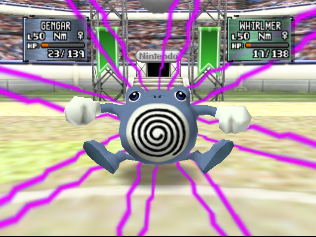 Pokemon Stadium 2 - Night Shade = PURE AWESOMENESS - User Screenshot