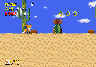 Sonic 2 - The Lost Worlds - Level  - OMG, Dust Hill Zone! - User Screenshot