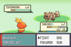 Pokemon Emerald - Battle  - boy v.s. girl - User Screenshot