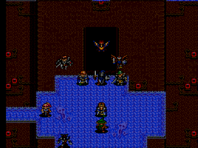 Shining Force II - Battle  -  - User Screenshot