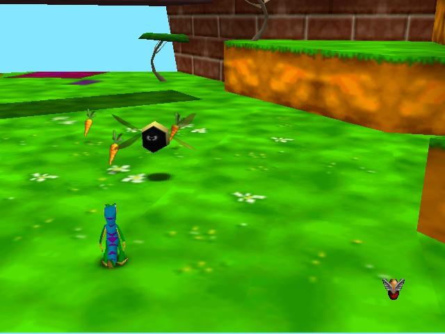 Gex 64 - Enter the Gecko - giant bee - User Screenshot