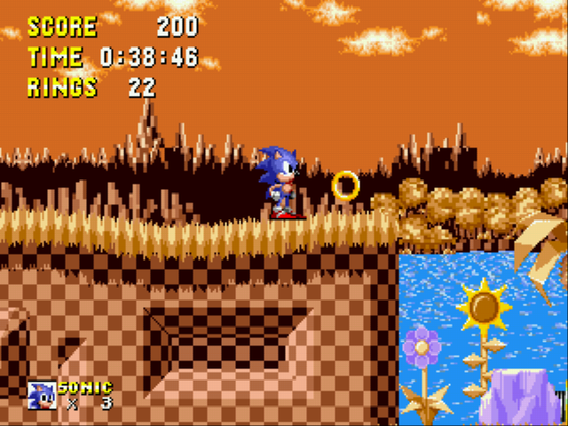 Sonic 1 Megamix - donut rings???!!! - User Screenshot