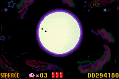 Kirby - Nightmare in Dream Land - to the moon - User Screenshot