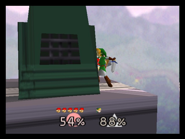Super Smash Bros. - Battle  - uhhh... mario is hugging link. D= - User Screenshot
