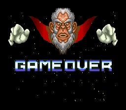 Star Fox - Gameover  - Game Over?!?! - User Screenshot