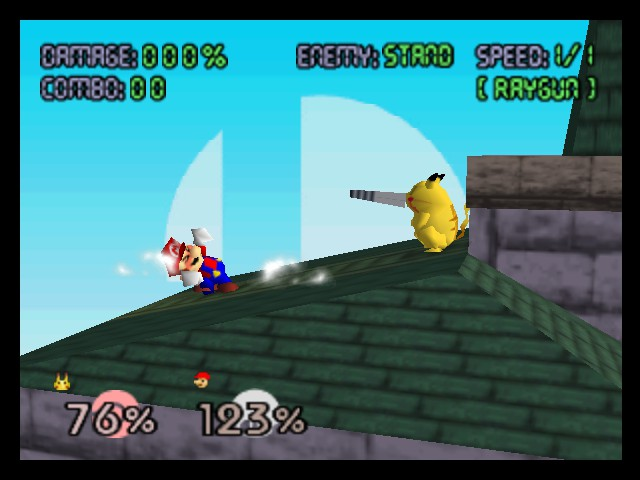 Super Smash Bros. - Battle  - RIP, Mario - User Screenshot
