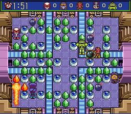 Super Bomberman 5 - Caravan Event Ban - Level  -  - User Screenshot
