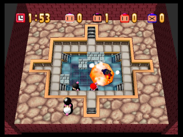 Bomberman 64 - Level Greedy Trap -  - User Screenshot