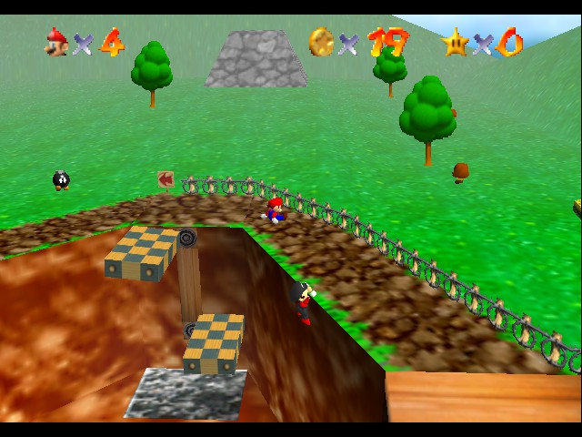 Super Mario 64 - Multiplayer - So much Teamwork here XD - User Screenshot