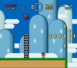 Kaizo Mario World - Level  - Thank god for save states. - User Screenshot