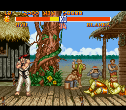 Street Fighter II - The World Warrior - Level  - I beat my first fight :D - User Screenshot