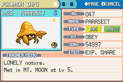 Pokemon Fire Red - Character Profile  - My Shiny Evolved (: - User Screenshot