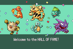 Pokemon Rebirth - Ending  - My Champions - User Screenshot