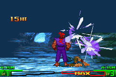 Street Fighter Alpha 3 - shin akuma used shun goku satsu on his clone - User Screenshot