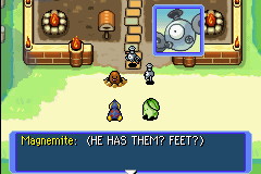 Pokemon Mystery Dungeon - Red Rescue Team - Cut-Scene  - even other pokemon have no idea. - User Screenshot