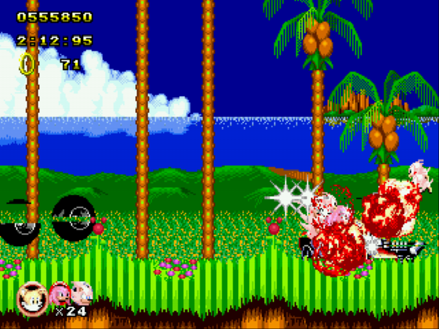 Sonic Classic Heroes - Battle  - He never stood a chance - User Screenshot