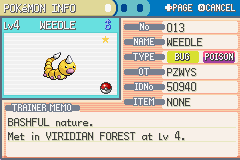Pokemon Ultra Violet - Character Profile  - 2nd shiny! didn