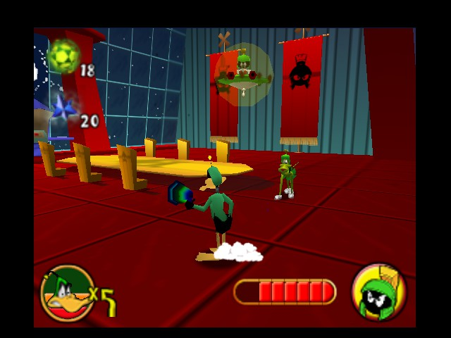 Daffy Duck Starring as Duck Dodgers - The Final Bout - User Screenshot