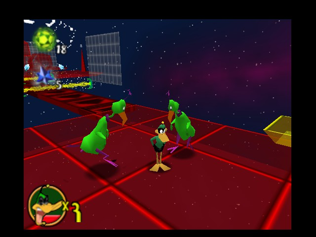 Daffy Duck Starring as Duck Dodgers - Ambush - User Screenshot