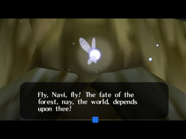 The Legend of Zelda - Ocarina of Time - Introduction  - The first wit speak - User Screenshot