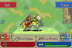 Fire Emblem - Sacred Contention - Sigh...It had to end THIS far into the battle - User Screenshot