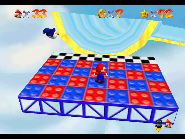 Super Mario 64 - Star Road - Why. - User Screenshot