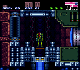 Super Metroid Redesign - Died in the elevator to Norfair. -_- - User Screenshot