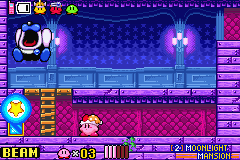 Kirby & the Amazing Mirror - Battle  - Mr. Frosty returns. - User Screenshot