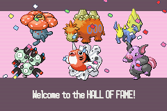 Pokemon Sapphire - Ending  - Just finished my first Nuzlocke challenge. c: - User Screenshot
