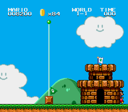 Super Mario Bros II 1998 (hack) - He bursts out of the castle. - User Screenshot