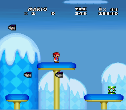 New Retro Mario Bros - Level  - World 6-2 - User Screenshot