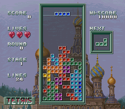 Super Tetris 3 - Level Stage 1 -  - User Screenshot