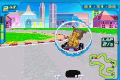 Digimon Racing - World Map  - HOPPER - User Screenshot