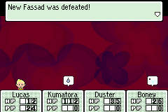 Mother 3 (english translation) - Battle  - yay! - User Screenshot