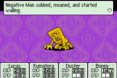 Mother 3 (english translation) - Battle  - er... *pats back* it