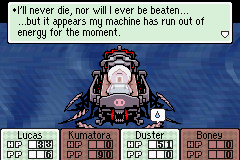 Mother 3 (english translation) - Battle  - lol :P - User Screenshot