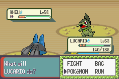 Pokemon Victory Fire (beta 1.75) - Battle  - :O - User Screenshot
