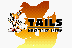 Sonic Advance - Introduction  - Tails - User Screenshot