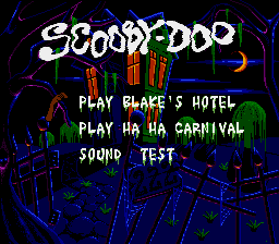 Scooby Doo Mystery - Introduction  - Title Screen - User Screenshot