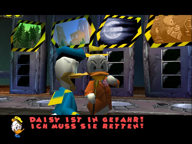 Play Disney's Donald Duck - Goin' Quackers online - Nintendo 64