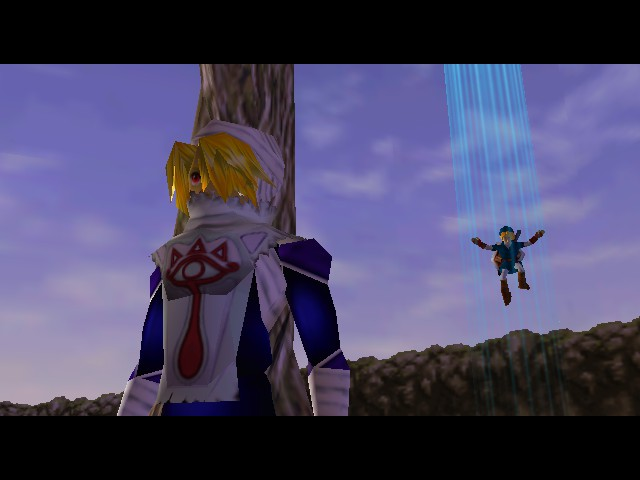 Legend of Zelda, The - Ocarina of Time - Cut-Scene  - Ninja Link