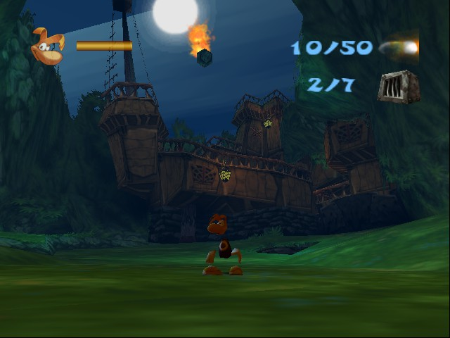 Rayman 2 - The Great Escape - Battle  -  - User Screenshot