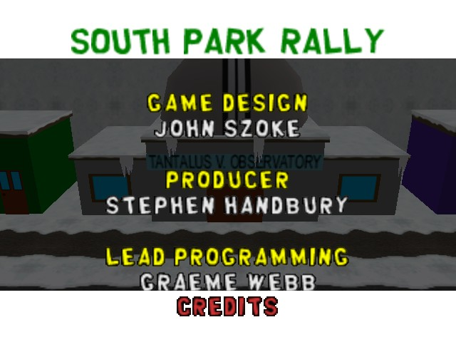 South Park Rally -  - User Screenshot
